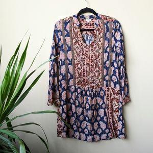 Tiny Paquerette Patterned Mini Shirt Dress size XS